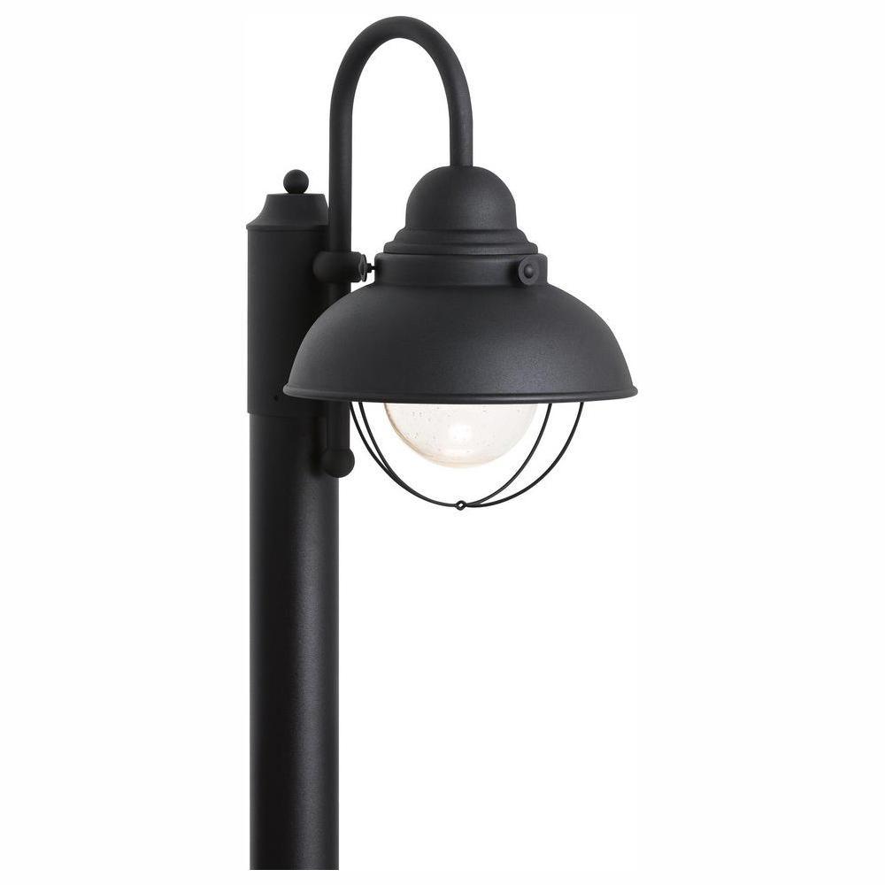 Sebring Outdoor Black Integrated LED Post Light