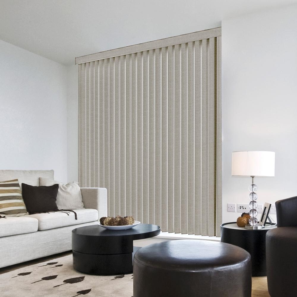 Brown Vertical Blinds Blinds The Home Depot