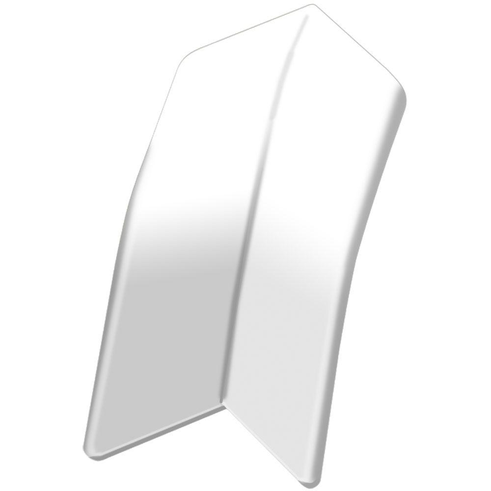 Dilex-AS Bright White 1/16 in. x 1-3/8 in. PVC Inside Corner