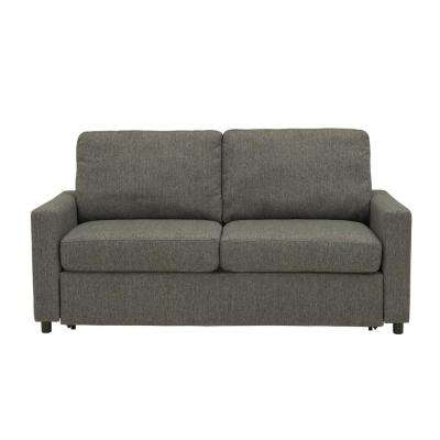 Estes Park Sleeper Sofa in Renu Performance Tested Charcoal Gray Textured Fabric