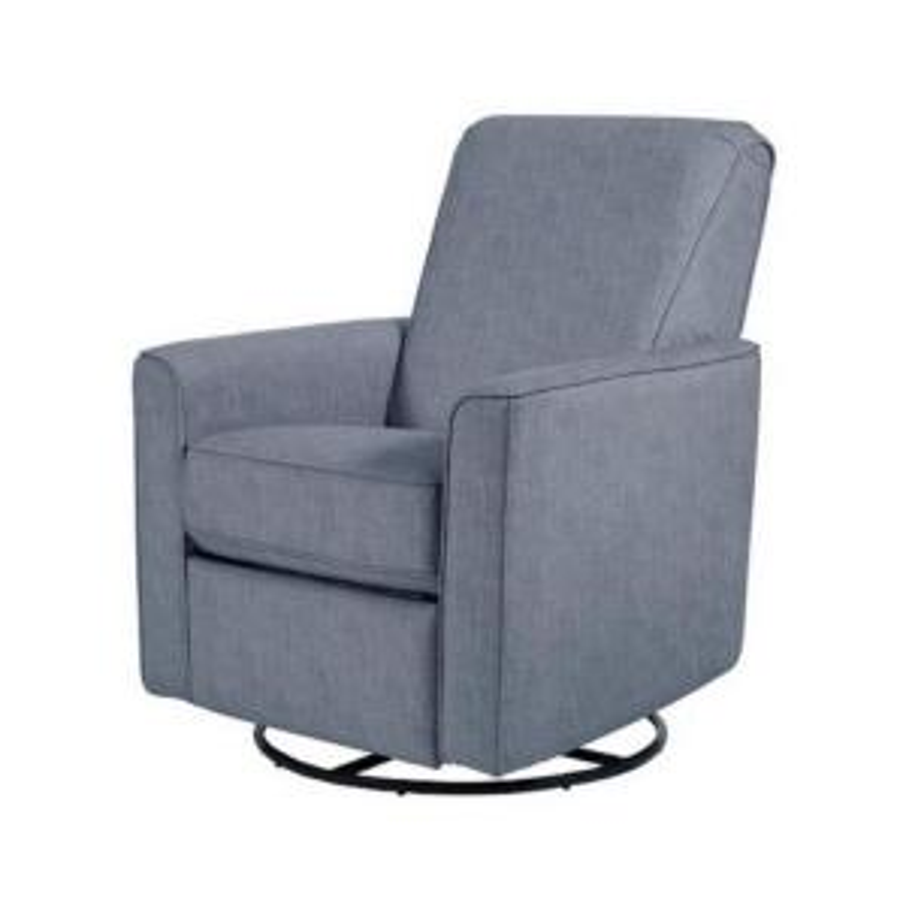 Fantastic Pri Harmony Carlton Dove Gray Fabric Swivel Glider Recliner Bralicious Painted Fabric Chair Ideas Braliciousco