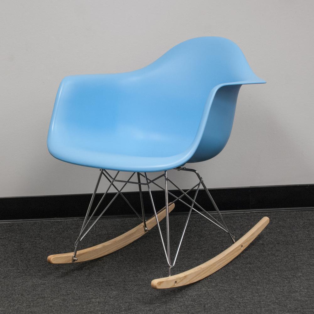 Astonishing Paris Tower Rocker Blue Lounge Chair Lamtechconsult Wood Chair Design Ideas Lamtechconsultcom