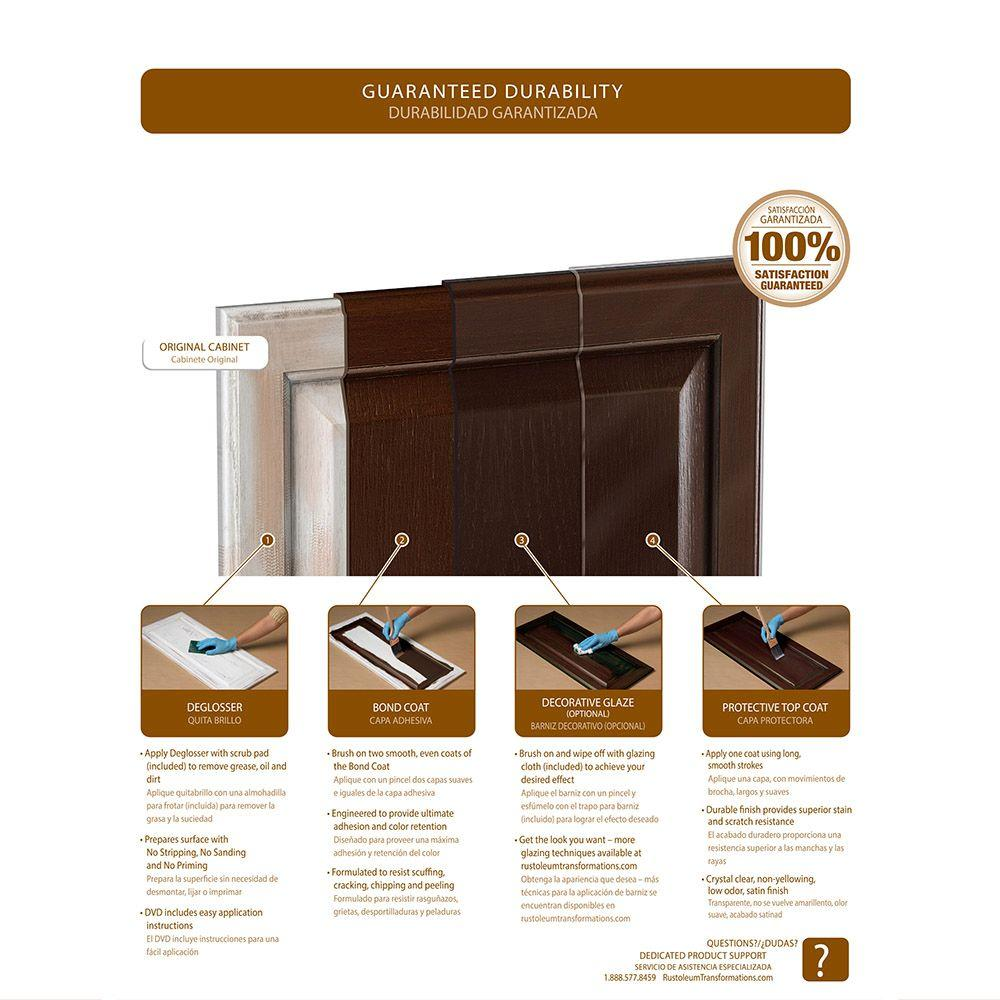 rustoleum cabinet transformations instructions