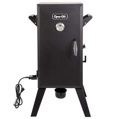 30 in. Analog Electric Smoker in Black