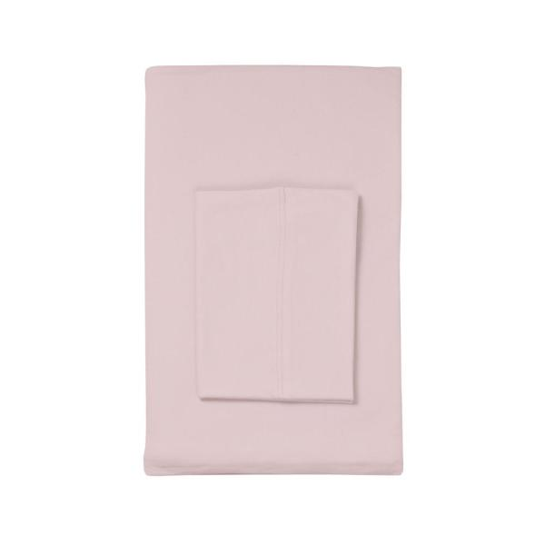 The Company Store Organic Cotton Jersey Twilight Solid Twin XL Fitted Sheet