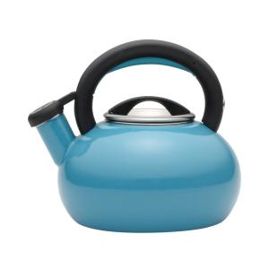 Click here to buy Circulon 6-Cup Capri Turquoise Sunrise Teakettle by Circulon.