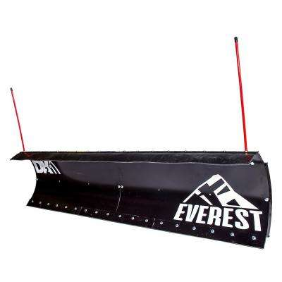 Everest 90 in. x 22 in. Fully Hydraulic Snow Plow Kit (Universal Fit, Custom Mount Sold Separately)