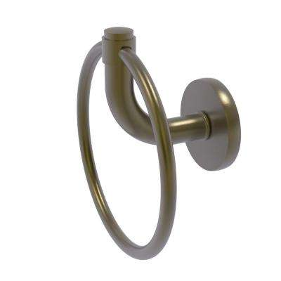 Remi Collection Towel Ring in Antique Brass