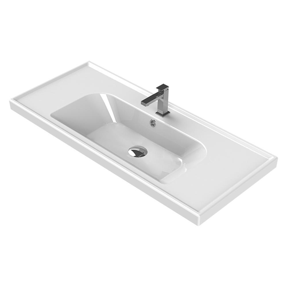 Gentil Nameeks Frame Wall Mounted Bathroom Sink In White