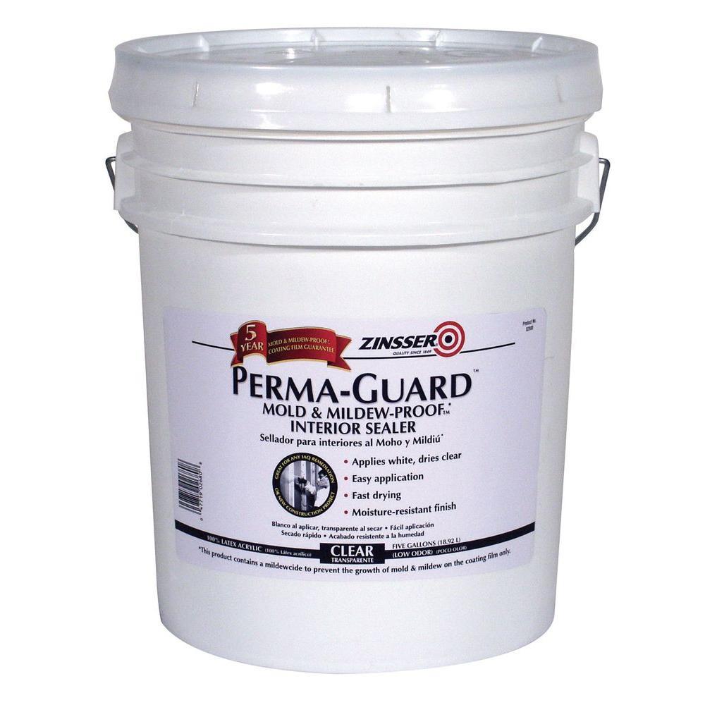 Clear Acrylic Mold Mildew Proof Interior Sealer