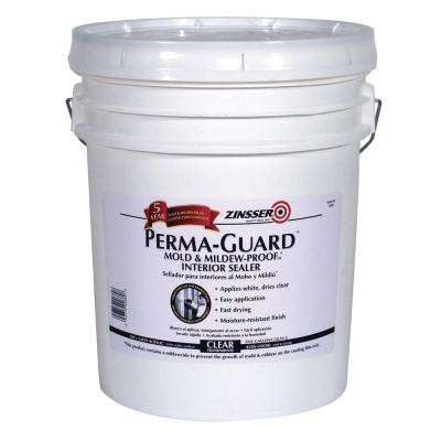5-gal. Perma-Guard Mold and Mildew Proof Acrylic Clear Interior Primer and Sealer