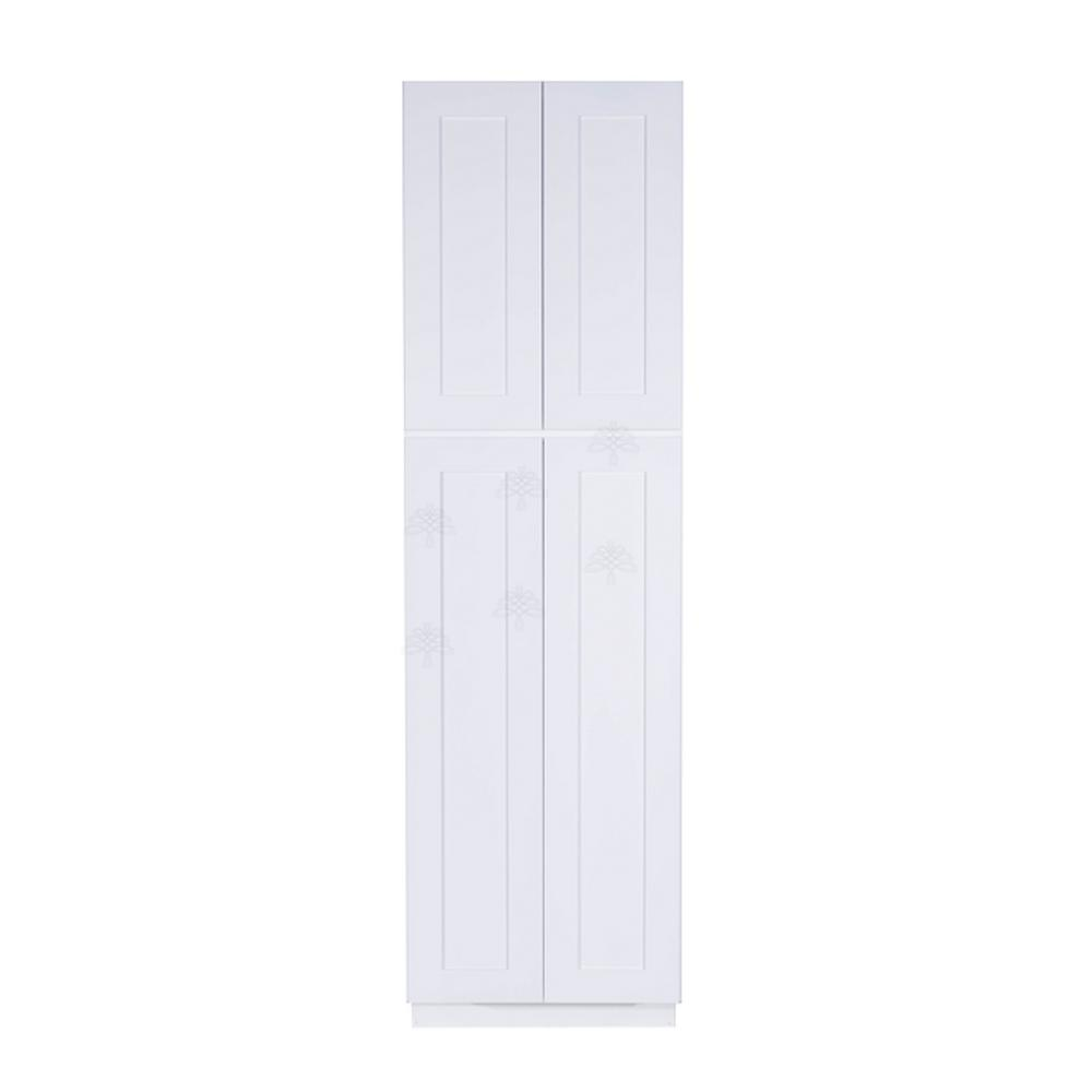 Tall Pantry Cabinetry With 4 Doors In White