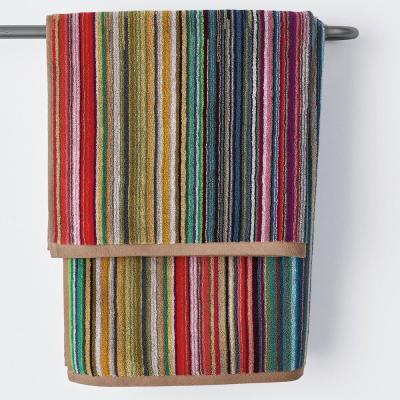 Rhythm Cotton Single Bath Towel in Multi Color