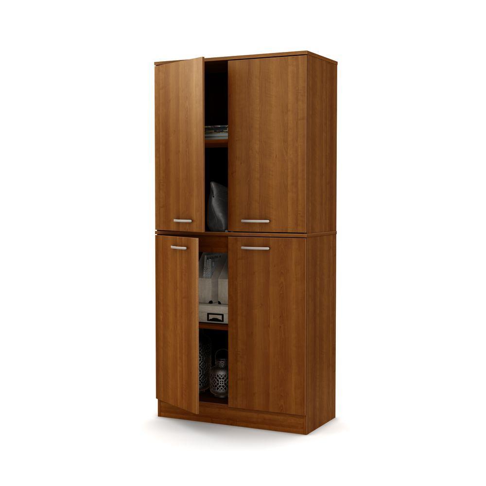 Superieur Internet #207035892. South Shore Axess Morgan Cherry Storage Cabinet