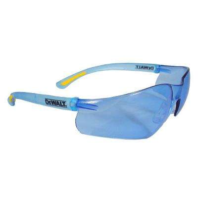 Safety Glasses, Contractor Pro with Light Blue Lens