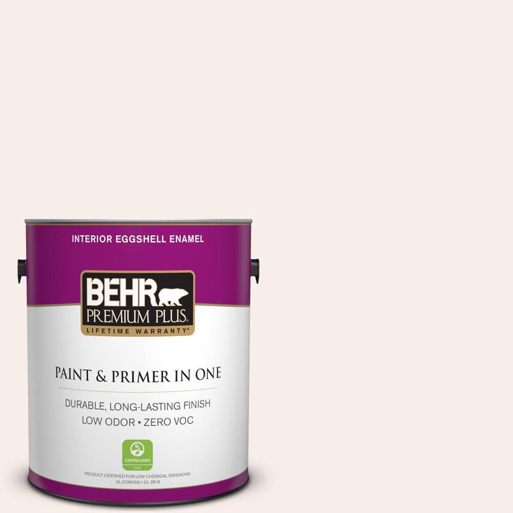 1-gal. #PPL-33 Pink Dust Zero VOC Eggshell Enamel Interior Paint