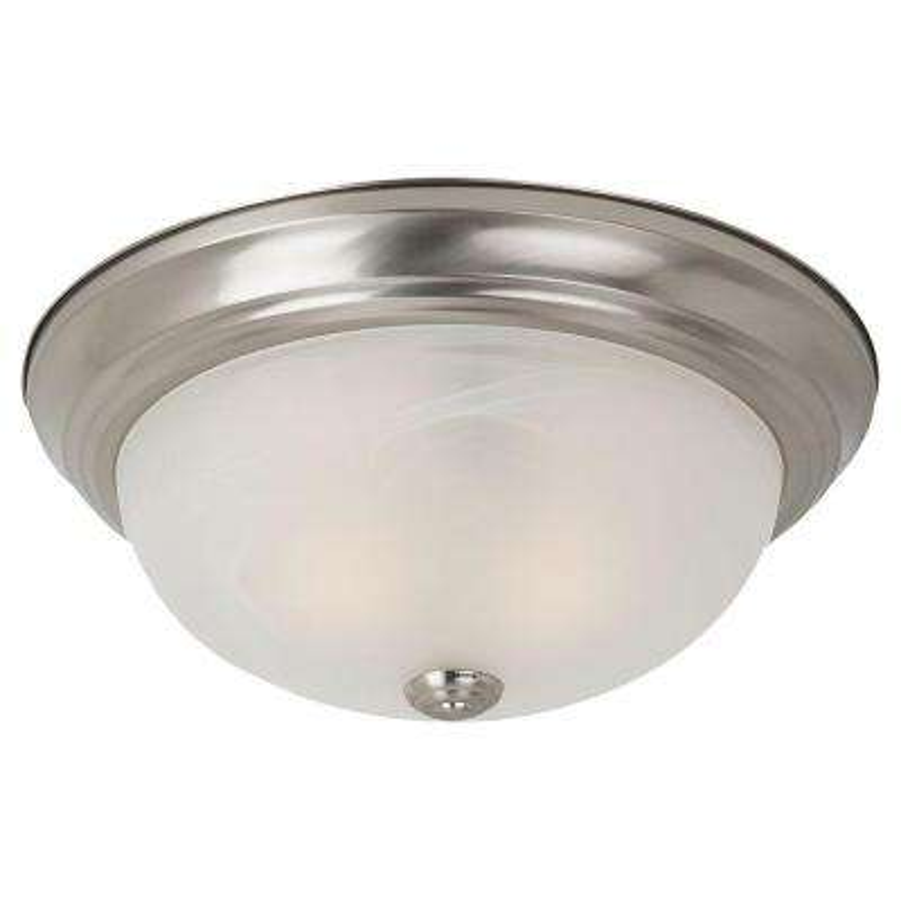 Windgate 2-Light Brushed Nickel Flushmount