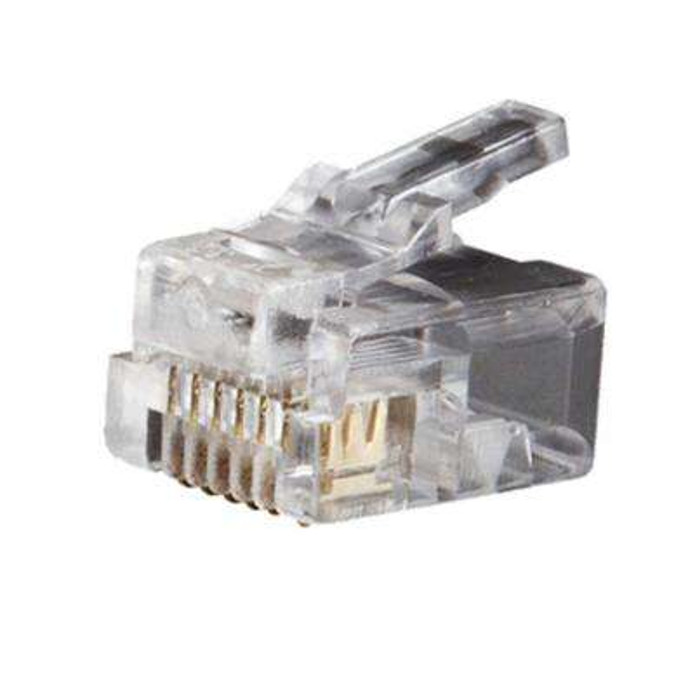 Telephone Plug - RJ11- 6P6C (25-Pack)