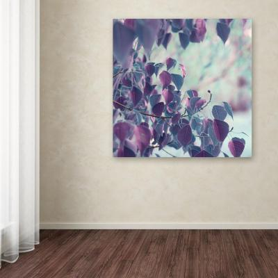 "18 in. x 18 in. ""Summer Thoughts"" by Beata Czyzowska Young Printed Canvas Wall Art"