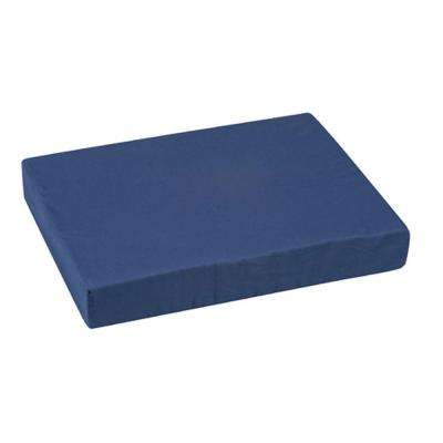 16 in. x 20 in. x 3 in. Pincore Cushion with Polyester/Cotton Cover in Navy