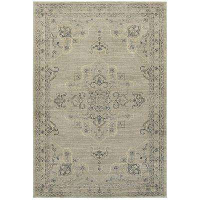 Antiquity Gray 4 ft. x 6 ft. Area Rug