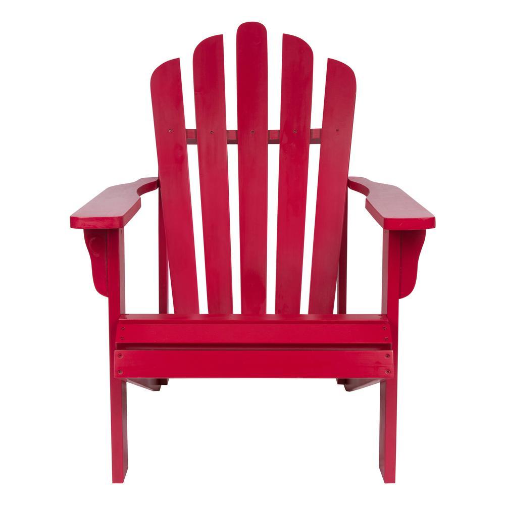 Westport Chili Pepper Cedar Wood Adirondack Chair