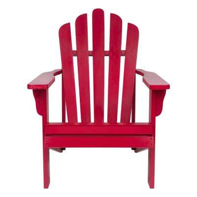 Westport Chili Pepper Cedar Wood Adirondack Chair
