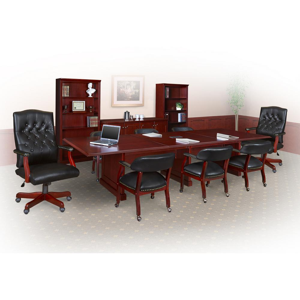 Prestige Mahogany In Modular Conference TableTVCTRCMH - 144 conference table