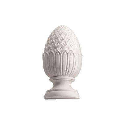 4-3/4 in. x 4-3/4 in. x 11 in. Polyurethane Full Round Pineapple Finial