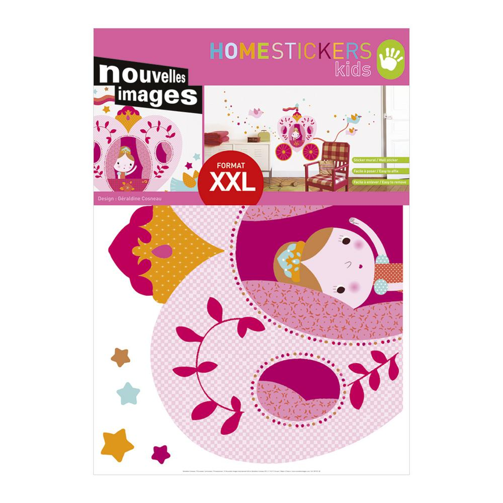 Multicolor Princesses XXL Wall Decals Home Sticker