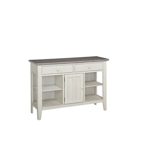 Progressive Furniture Lancaster Smoke and Vanilla Server D882-56