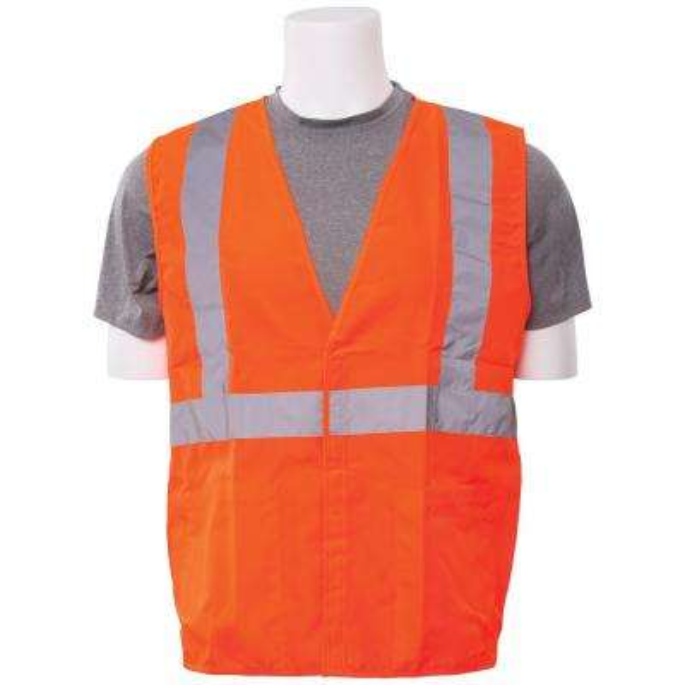 S388 2X Class 3 Poly Oxford Hi Viz Orange Vest