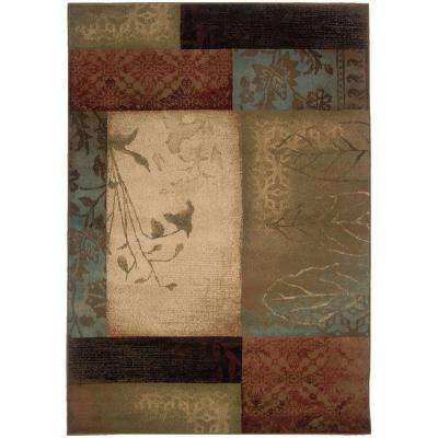 Hillsborough Multi 10 ft. x 13 ft. Area Rug