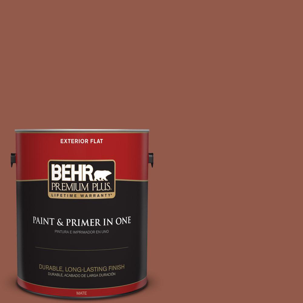 1-gal. #200F-6 Sequoia Grove Flat Exterior Paint