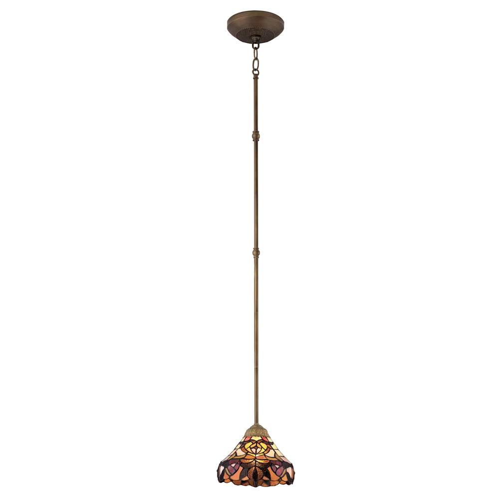 Bel Air Lighting Marie 1 Light Tiffany Gl Mini Pendant