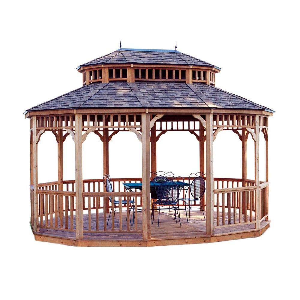 Ordinaire Oval Gazebo