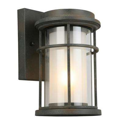 Helendale 1-Light Zinc Outdoor Wall Mount Lantern