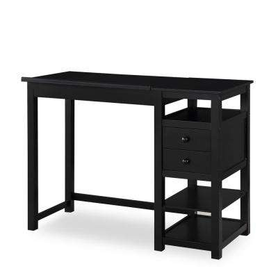 Black Drafting and Craft Counter Height Desk