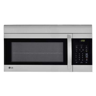 Over The Range Microwave Oven In Stainless Steel With Easyclean Interior