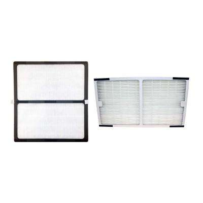 Replacement Idylis C and D Air Purifier Filter Kit, IAF-H-100D and IAF-H-100C Fits IAP-10-280 (2-Pack)