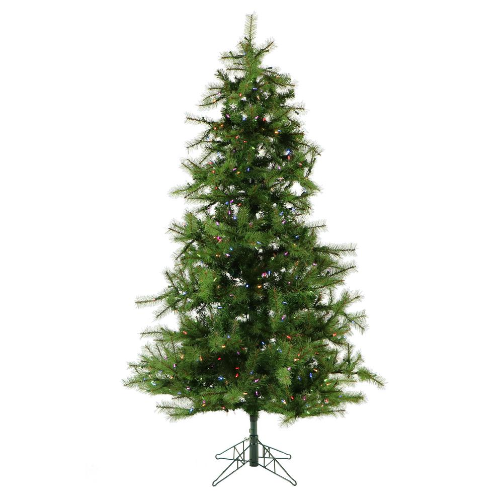 Fraser Hill Farm 12 ft. Pre-Lit LED Southern Peace Pine Artificial ...