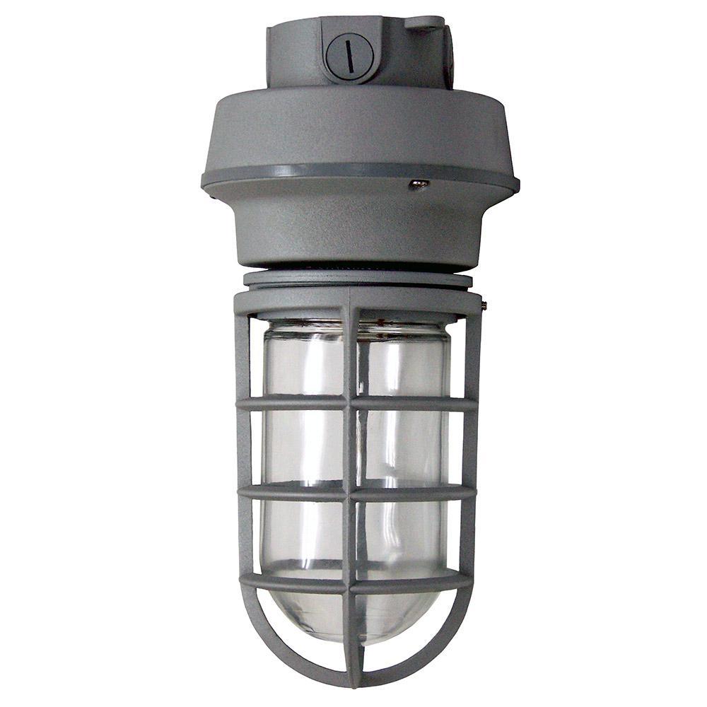 Industrial outdoor ceiling lighting outdoor lighting the 10 watt outdoor gray led large box mount vapor proof arubaitofo Images