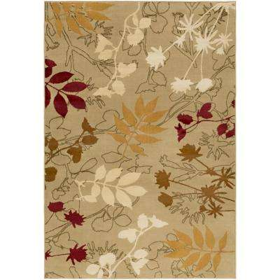 Mountain Home Dark Brown 8 ft. x 11 ft. Indoor Area Rug