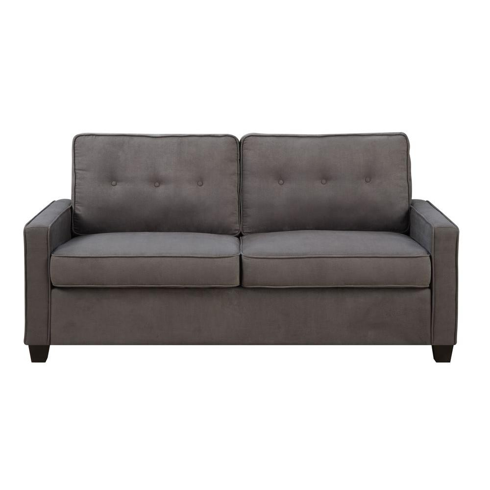 Pulaski Furniture Vernon Slate Gray Polyester Sofa