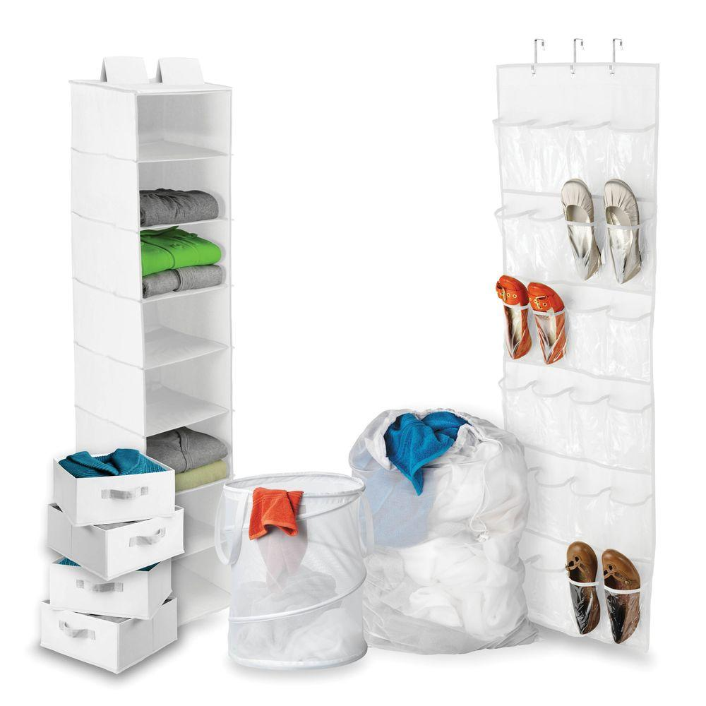 Perfect Honey Can Do 8 Piece Back To School Closet Storage And