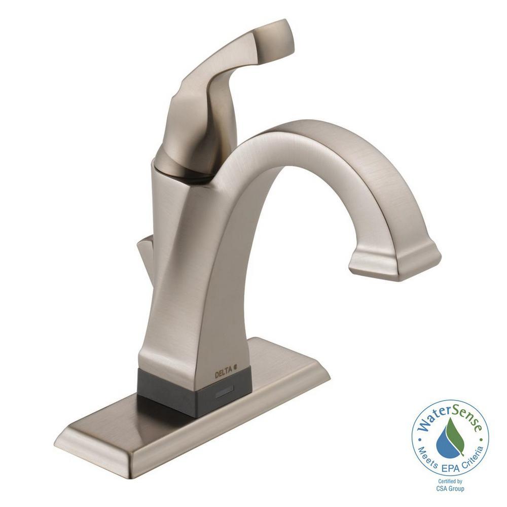 Delta Dryden Single Hole Single-Handle Bathroom Faucet with ...