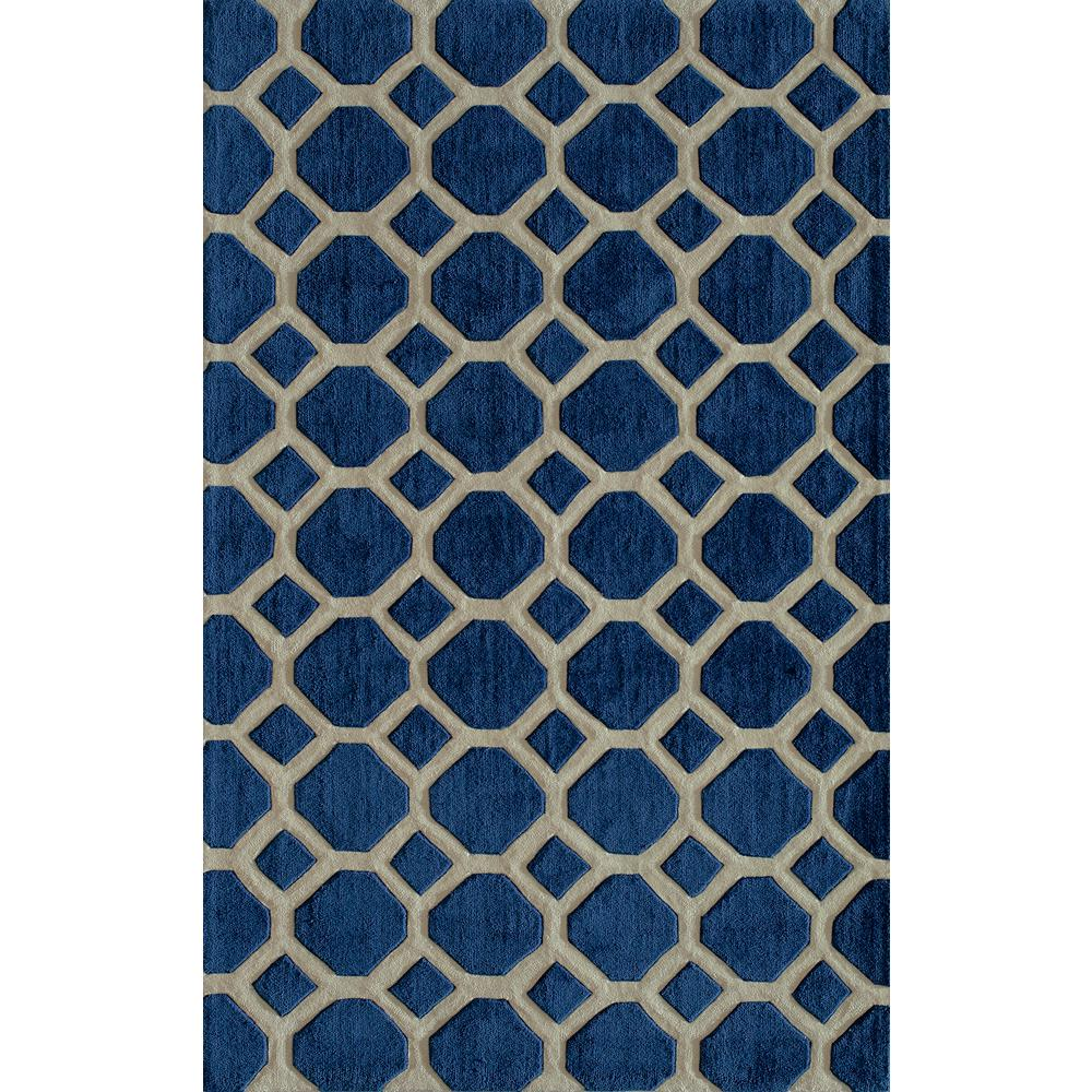 Bliss Navy 3 ft. 6 in. x 5 ft. 6 in.