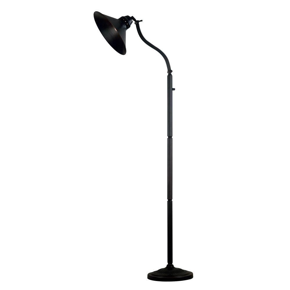Amherst 1-Light 72 in. Oil-Rubbed Bronze Adjustable Floor Lamp