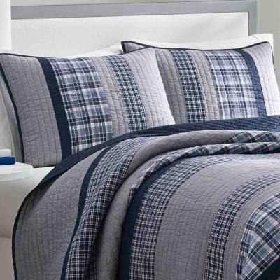Adelson Stripes & Plaids 136-Thread Count Cotton Quilt