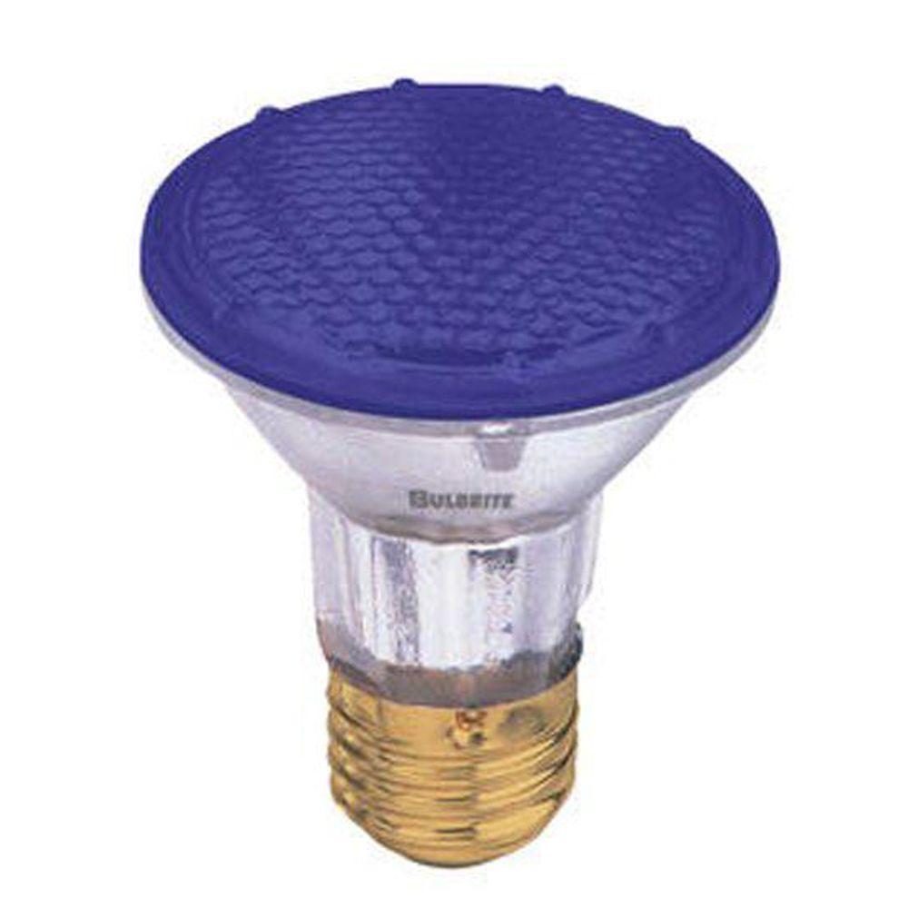 Bulbrite 50-Watt Halogen PAR20 Blue Light Bulb (5-Pack)